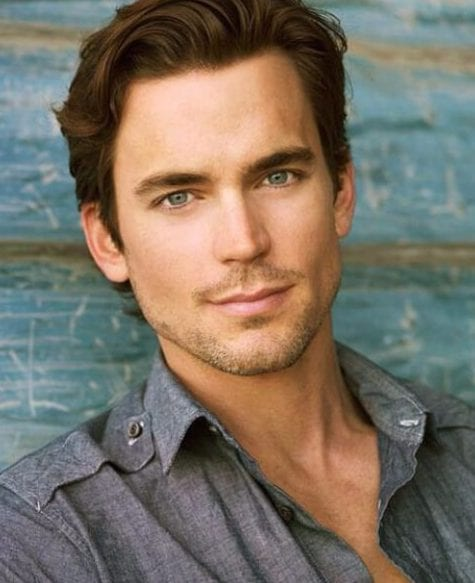 matt bomer hairstyles for men with wavy hair