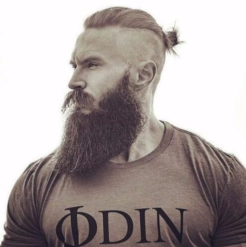 odin inspiration viking hairstyles