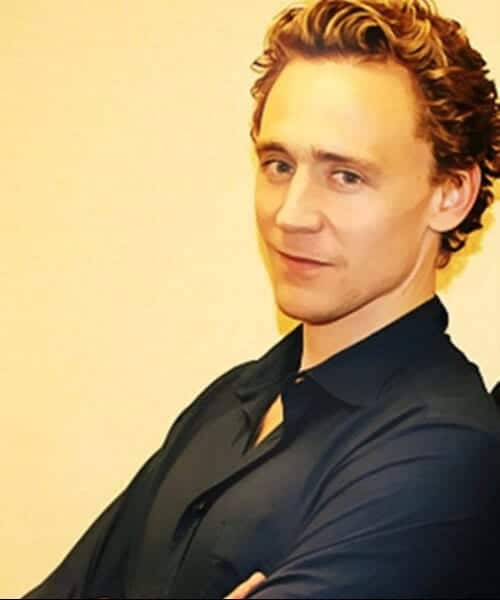 tom hiddleston hairstyles for men with wavy hair