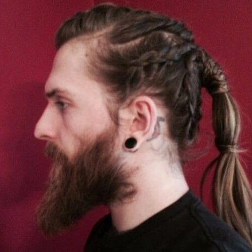 warrior braids viking hairstyles