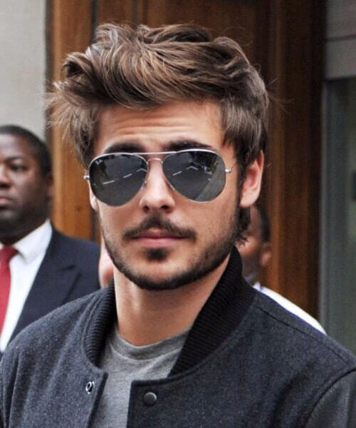 zac efron hairstyles for men with wavy hair