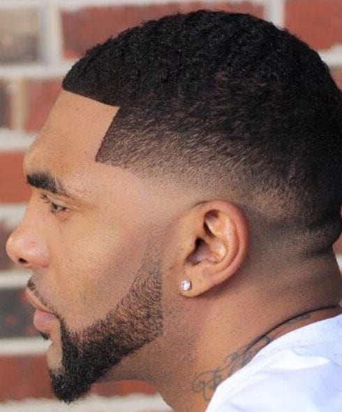 Low Skin Fade with Buzz Cut and Shape Up low fade haircut
