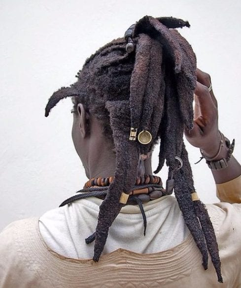accessories long hairstyles for black men