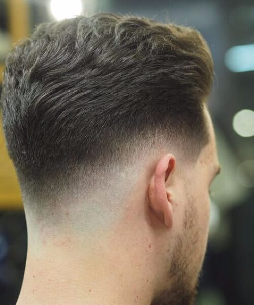 basic low fade haircut