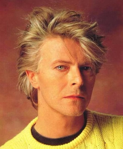 david bowie blowout haircut