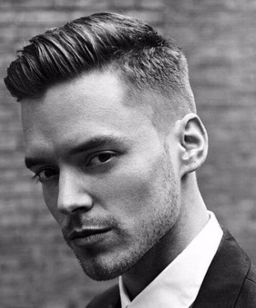 gentleman low fade haircut