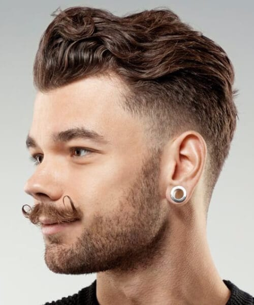 hipster low fade haircut
