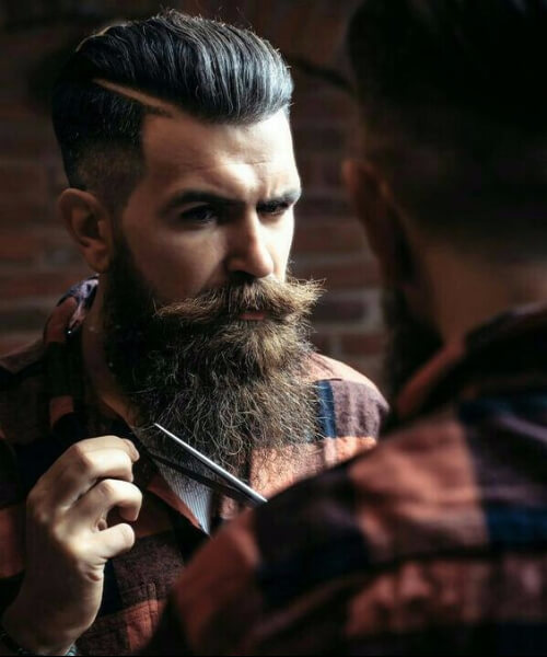 45 trendy undercut with beard styles menhairstylistcom