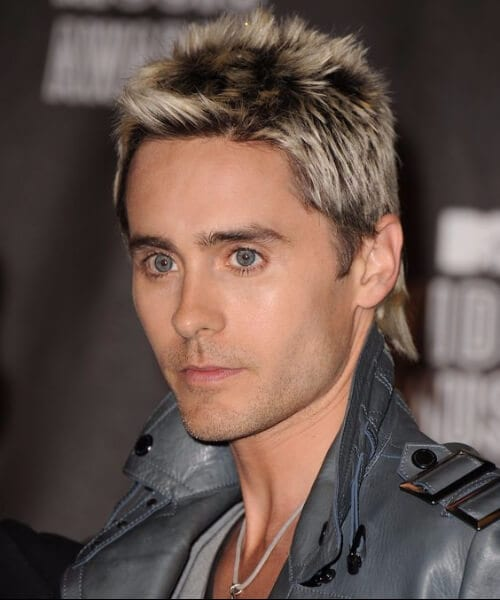 jared leto blowout haircut