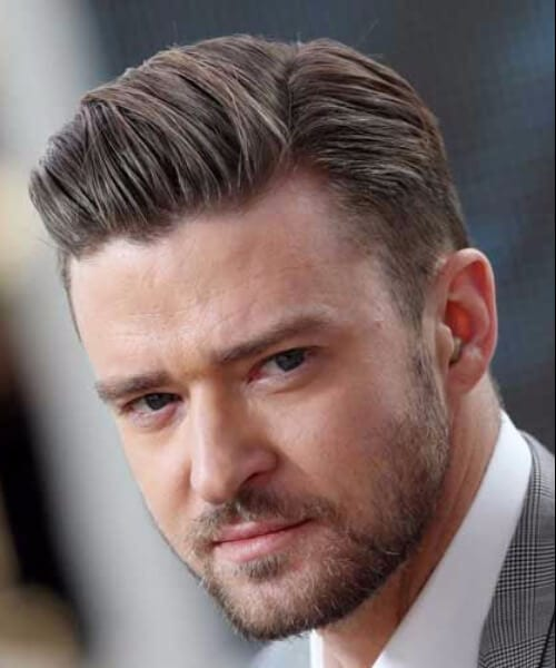 justin timberlake low fade haircut