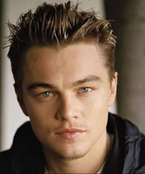 leonardo dicaprio blowout hairstyle