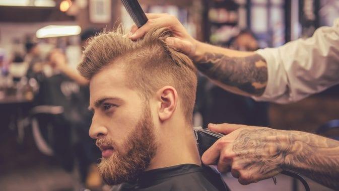 low fade haircut