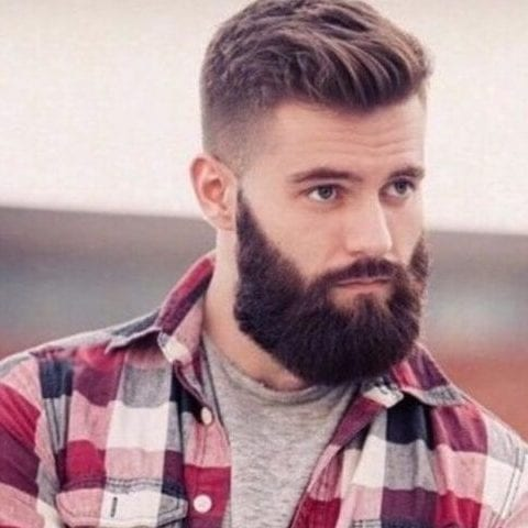 lumberjack undercut with beard