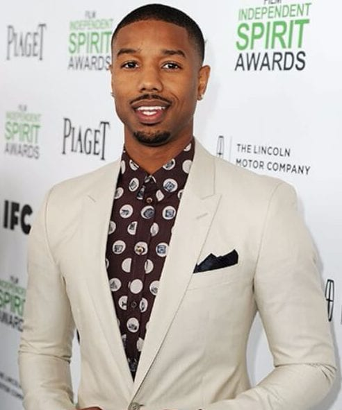 michael b jordan low fade haircut