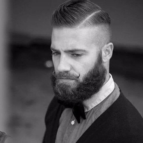oxford undercut with beard