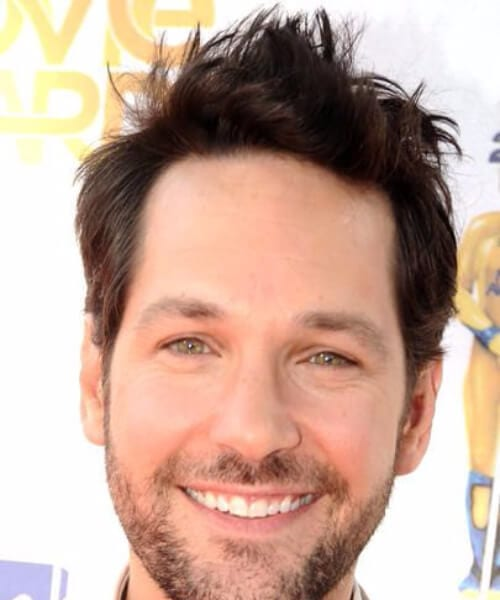 paul rudd blowout haircut