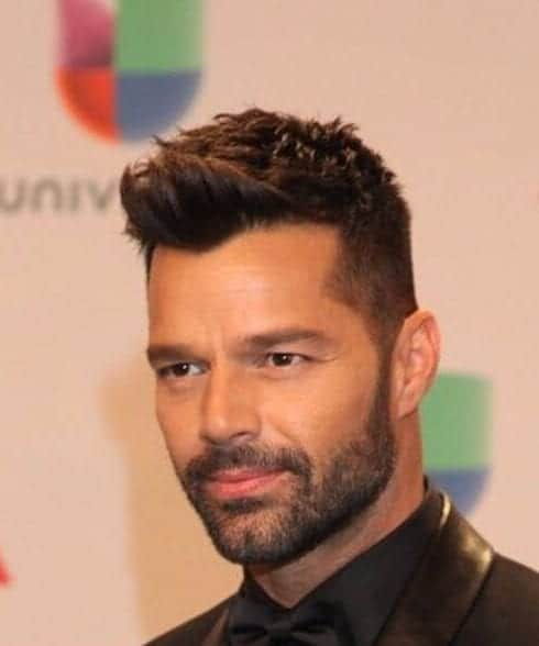 ricky martin hair style 50 cool spiky hairstyles for obsigen 1808