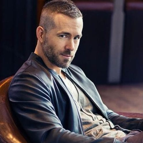ryan reynolds undercut with beard