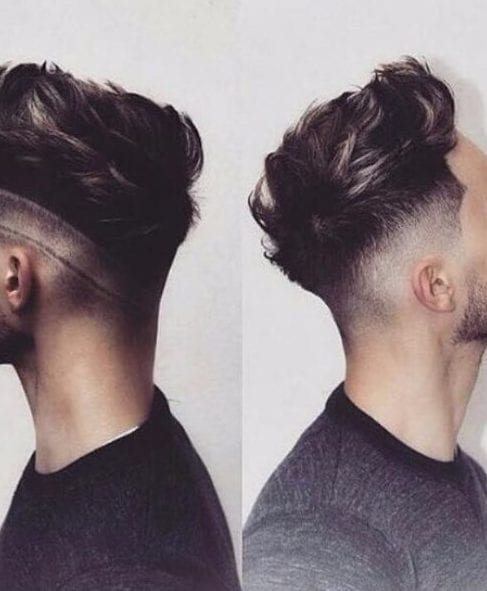 tattooed low fade haircut