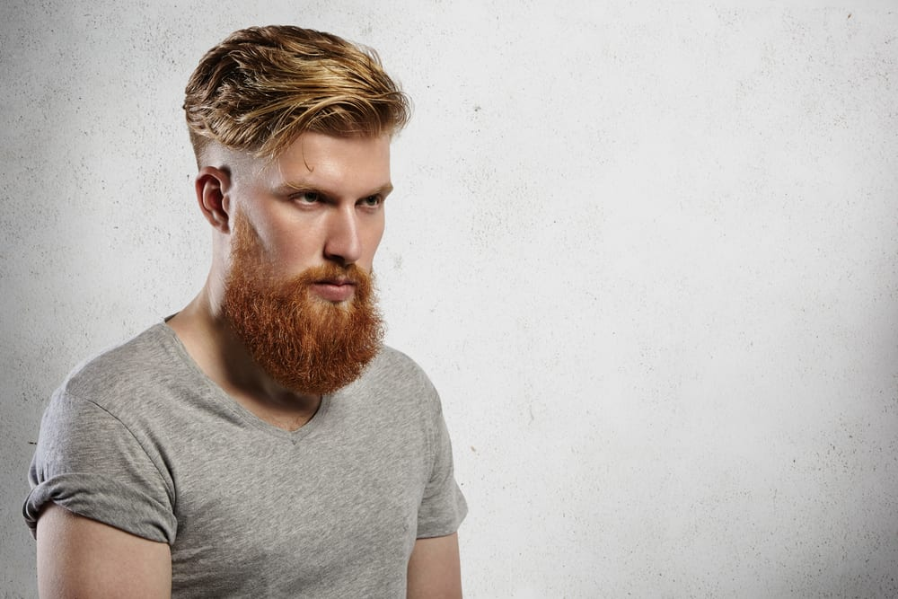 Hair Style With Beard: 50 Trendy Undercut With Beard Styles