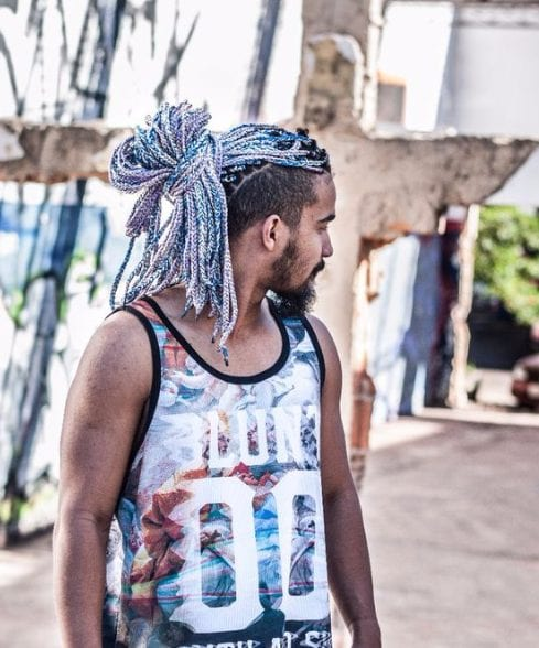 unicorn braids long hairstyles for black men