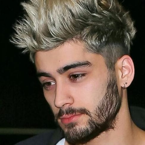 zayn malik undercut with beard