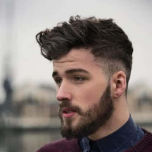 Oxford Undercut with Curly Hair
