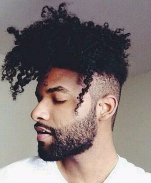 Natural Curly Hair For Black Males