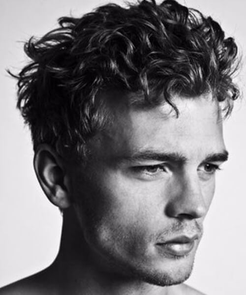45 Undercut with Curly Hair Styles for Men - OBSiGeN