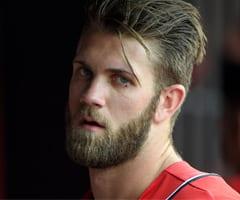 bryce harper hair