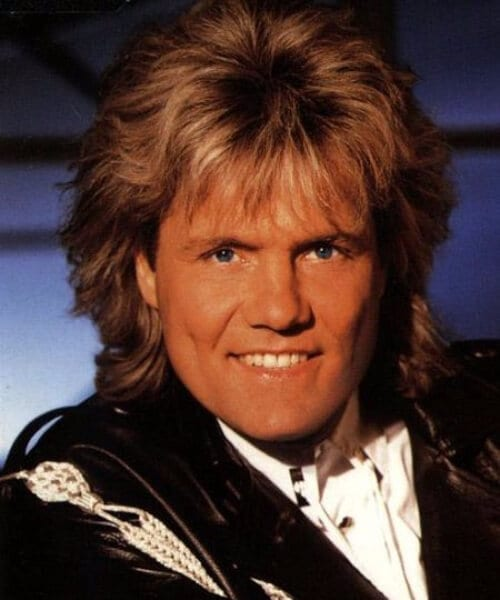 dieter bohlen modern talking mullet haircut