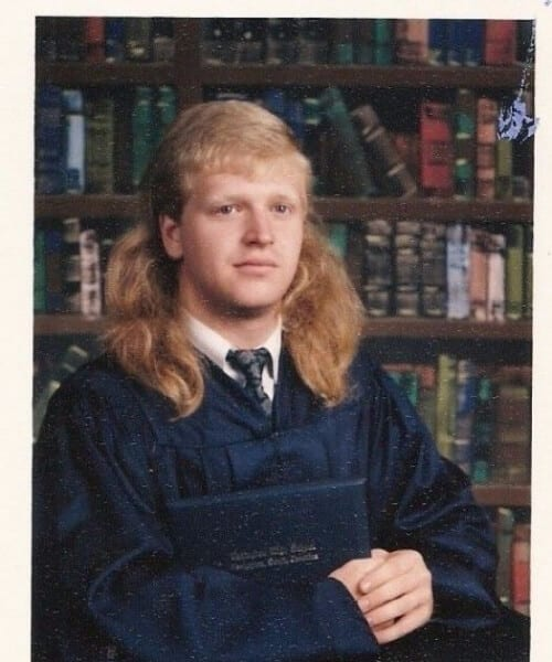 graduation mullet haircut