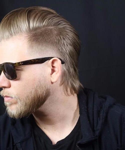 pompadour mullet haircut