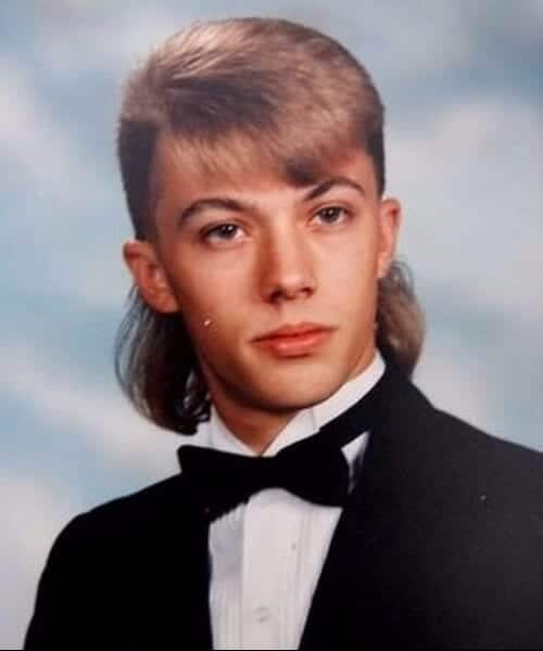 prom mullet haircut