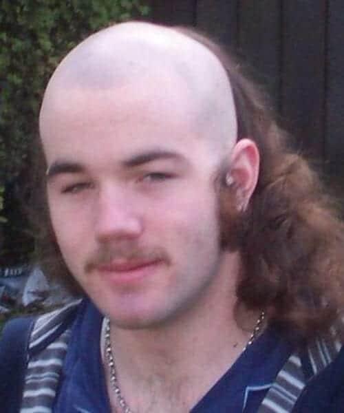 skullet mullet haircut