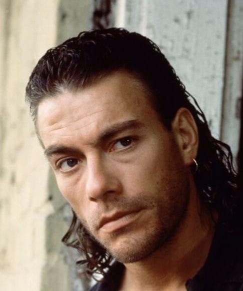 Van Damme Mullet Haircut