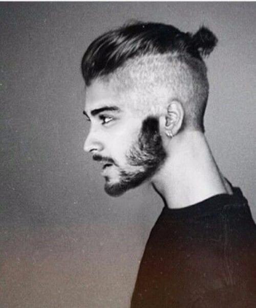 zayn malik mens fade haircuts