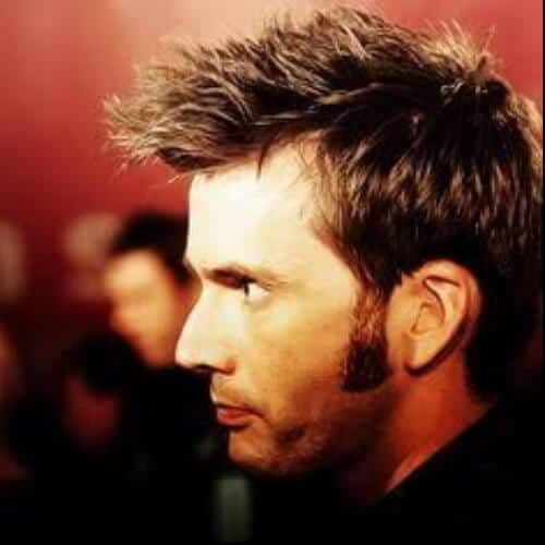 David Tennant sideburn designs