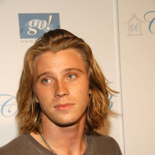 Garrett Hedlund blonde men hairstyles