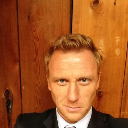 Kevin McKidd blonde men hairstyles