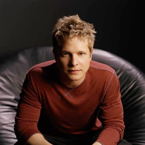 Matt Czuchry blonde men hairstyles