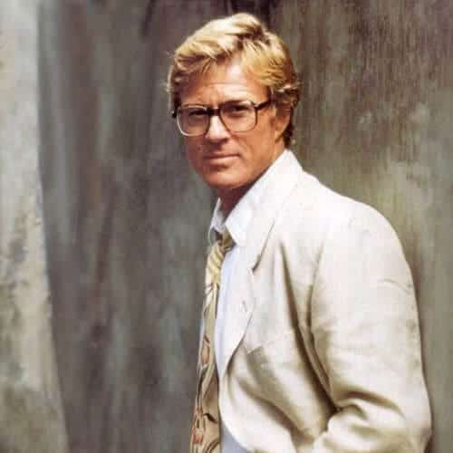 Robert Redford blonde men hairstyles