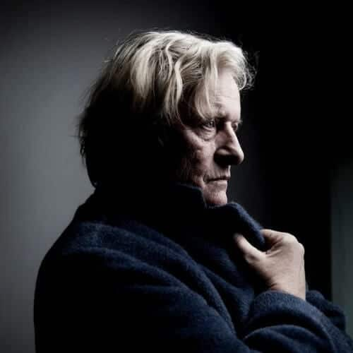 Rutger Hauer blonde men hairstyles