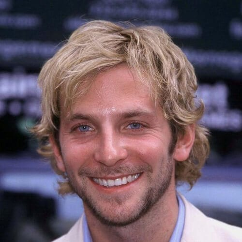 bradley cooper blonde men hairstyles