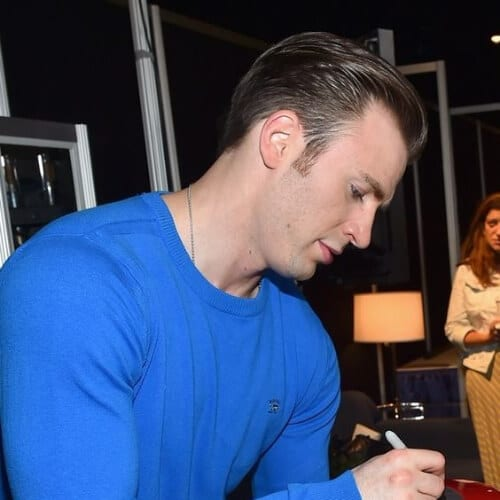 chris evans sideburn designs