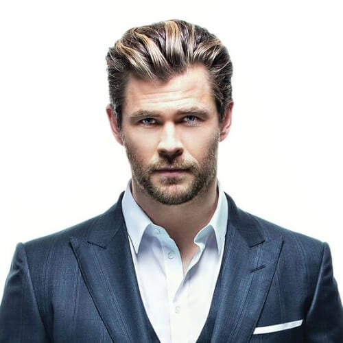 chris hemsworth hair style 50 business hairstyles obsigen 6547