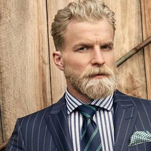 hair beard match business hairstyles