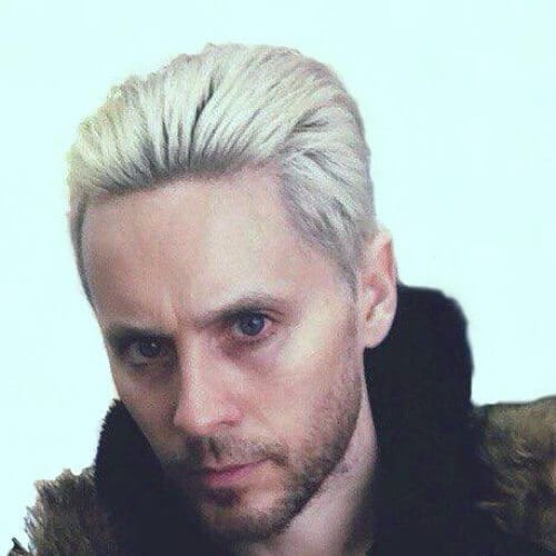 Jared Leto Blonde Men Hairstyles