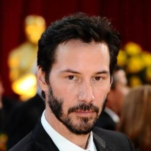 keanu reeves sideburn designs