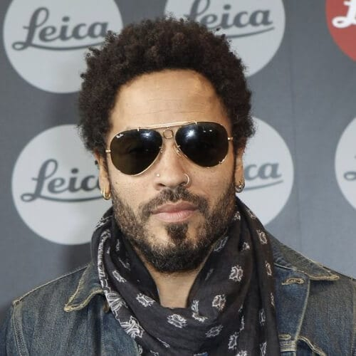 lenny kravitz curly hairstyles for black men